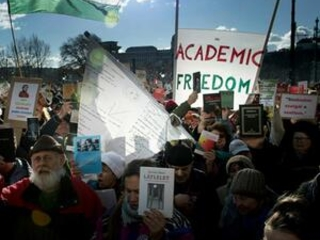 Scientists in Hungary protest govt takeover of research