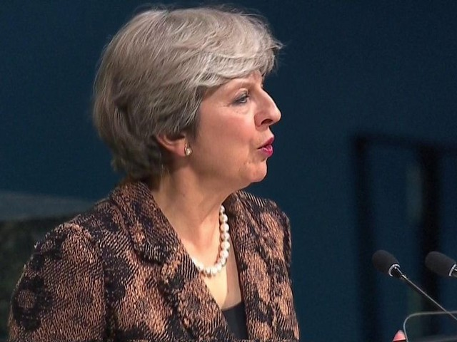 Theresa May: UK will withhold funding from UN unless it reforms