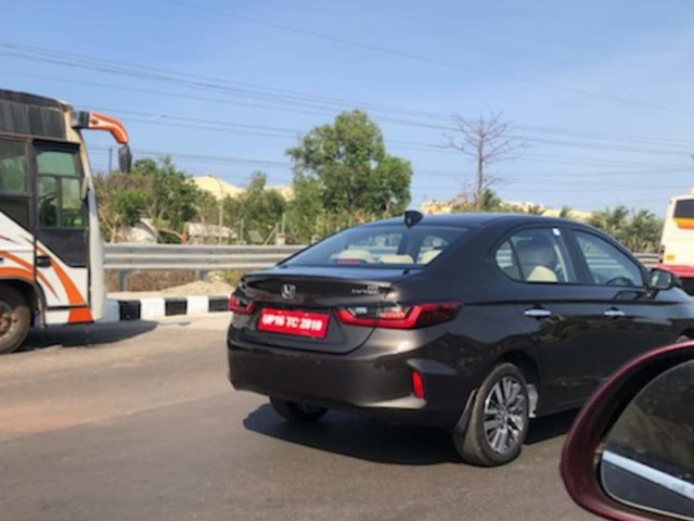 New Honda City India launch next month