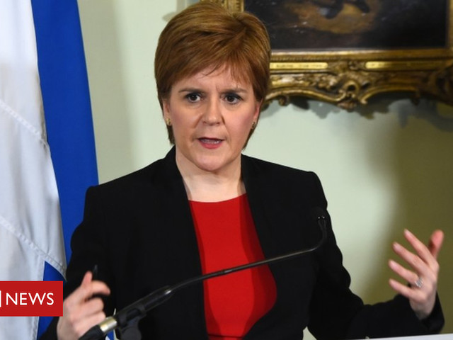 Brexit: Sturgeon urges Corbyn to bring down May