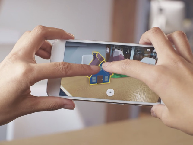 Samsung and Google team up on augmented reality with ARCore