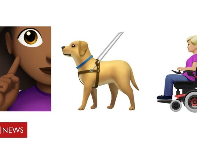Disability emojis: Guide dog and wheelchair user made available