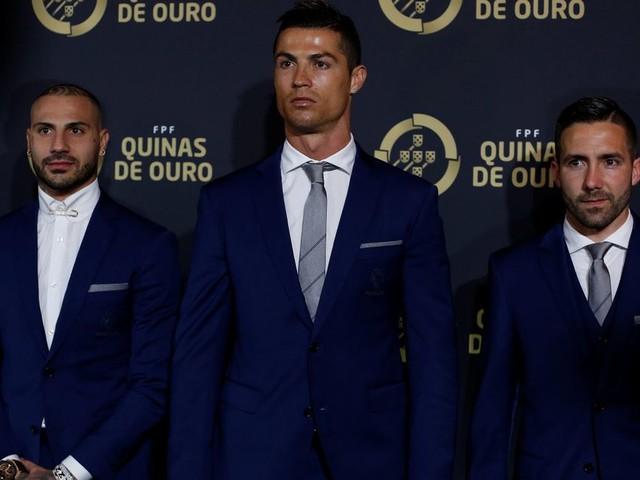 Cristiano Ronaldo named Portuguese player of the year at prestigious 'Quinas de Ouro' ceremony