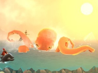 Outrageously Ride the Shining Sea in Run-A-Whale
