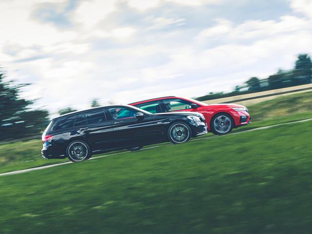 New vs used: Skoda Octavia vRS vs Mercedes-AMG C43