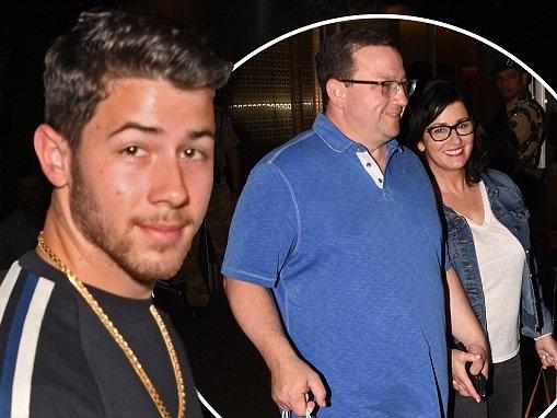 Nick Jonas and family are in Mumbai for Priyanka Chopra party