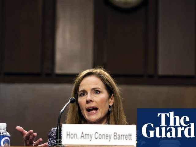 Amy Coney Barrett pledges 'open mind' and plays down conservative record