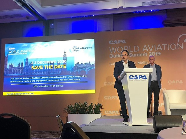 London Stansted to host world aviation summit in 2020