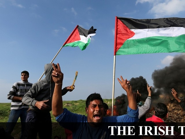 Israel attacks Gaza targets after bomb blast injures two soldiers