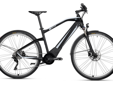 BMW Active Hybrid e-bike with significant power boost