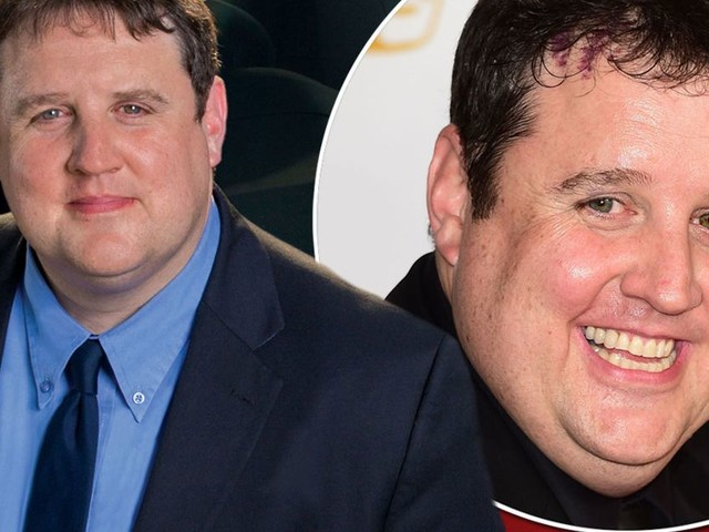 Peter Kay appears in good health as he's spotted for first time in NINE months