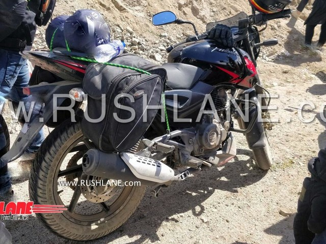 New Bajaj Pulsar 150 ABS spied for the first time – Launch expected by Diwali 2018