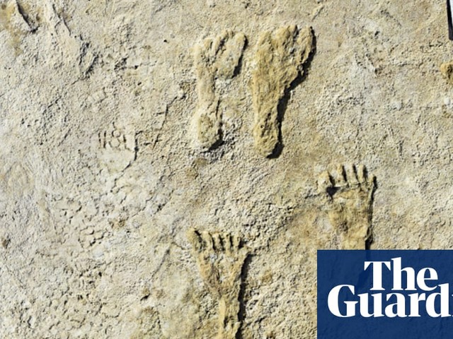 Human footprints thought to be oldest in North America discovered