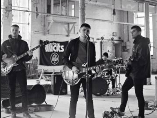 new band of the day : The Illicits : latest Alan McGee signing