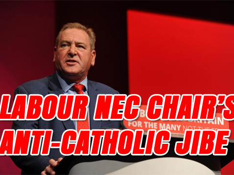 Labour NEC Chair Sparks Anti-Catholic Sectarian Row