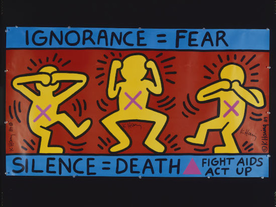 A Spontaneous Desire To Make Stuff: Keith Haring On The BBC