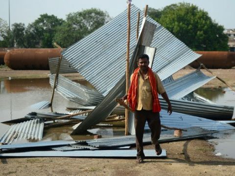 Deadly India superstorms kill nearly 150