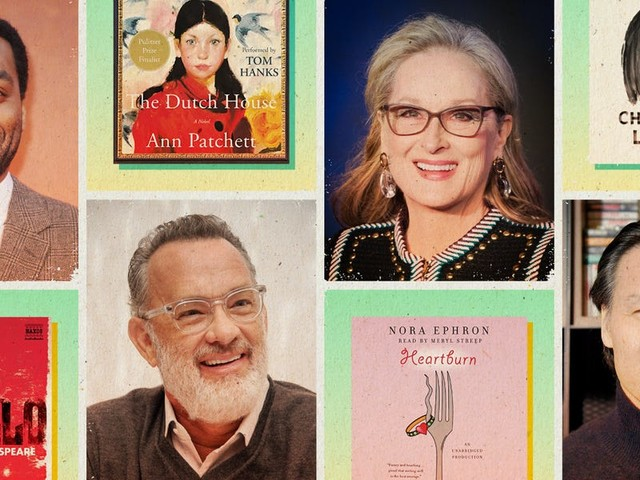 25 entertaining audiobooks narrated by celebrities, from Meryl Streep to Tom Hanks