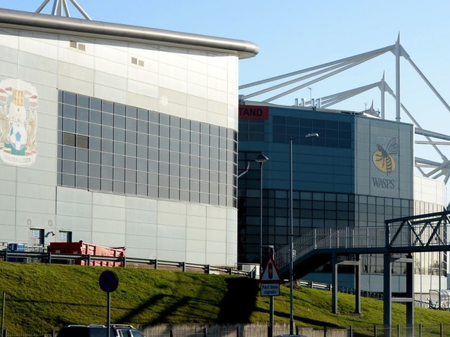 Talks break down between Wasps and Coventry City