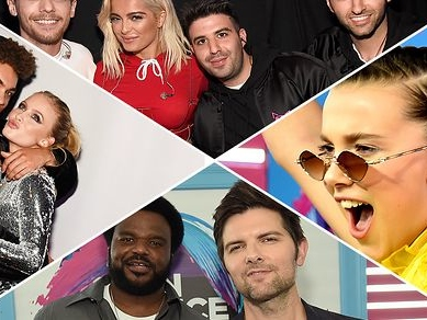 16 Behind-the-Scenes Snaps From the Teen Choice Awards 2017