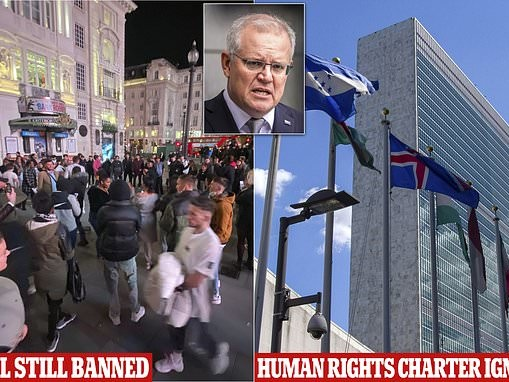How Australia is breaching the UN Declaration Declaration of Human Rights by stopping you travelling