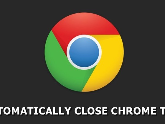 Automatically Close Chrome Tabs after a Stipulated Time