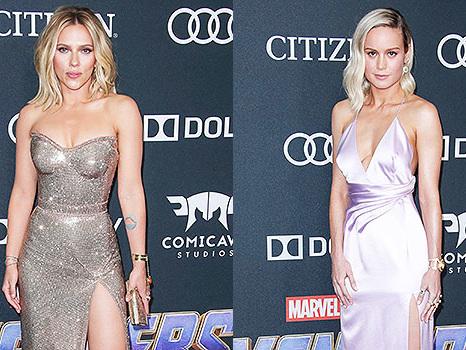 Scarlett Johansson VS. Brie Larson: Which 'Avengers: Endgame' Premiere Dress Was Your Fave?