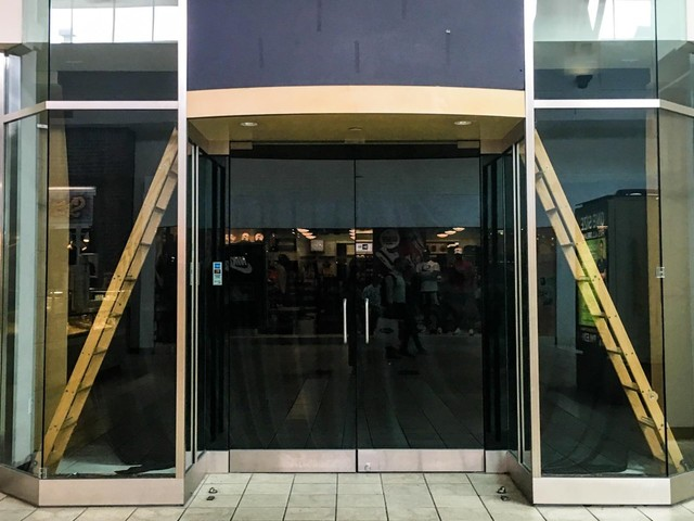 America's first mall is about to be redeveloped into offices, homes, and an NHL training center. We went inside and found it eerily empty.