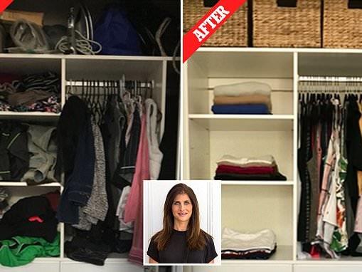 Expert reveals the secrets to wardrobe decluttering