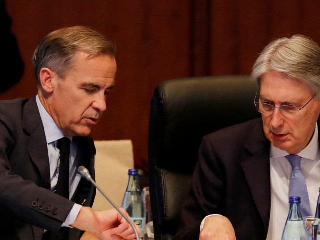 Carney and Hammond look to future in Mansion House speeches