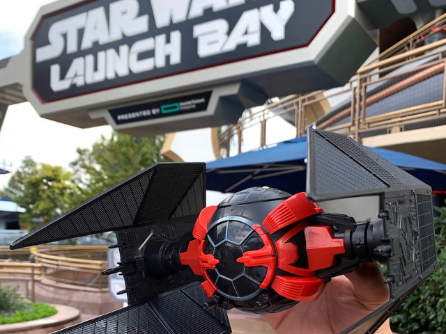 Seeking Power and Beverage Containment? TIE Fighter Sipper at Disneyland Has it All