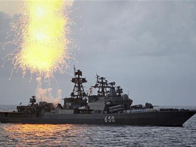 Russia says its Baltic Sea war games with Chinese Navy not a threat