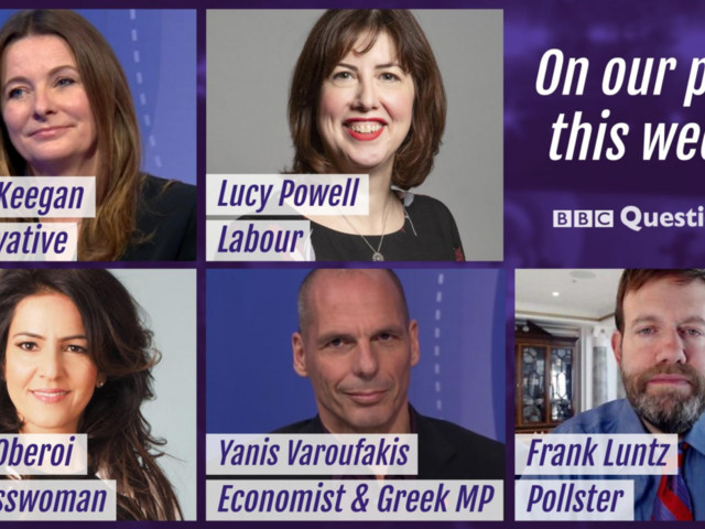Who's On Question Time? #BBCQT