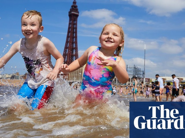 Britain's hottest day of the year – in pictures
