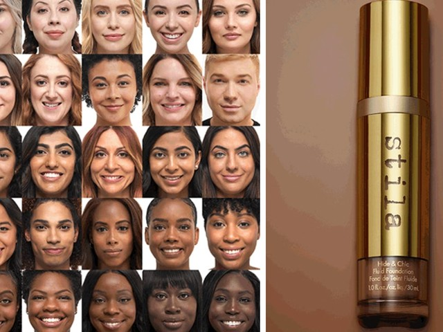 """Stila's New Hide & Chic Fluid Foundation Has A """"Shake To Activate"""" Formula & 7 Shade Families"""