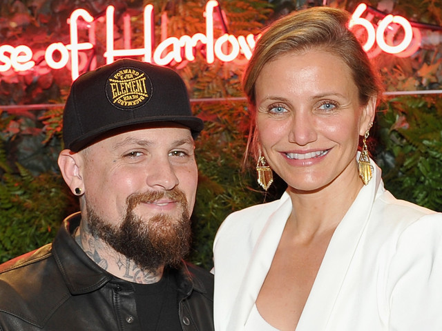 Benji Madden Praises Wife & New Mom Cameron Diaz on Mother's Day