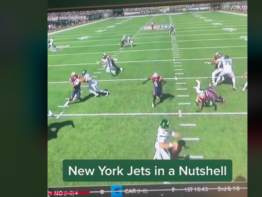 Nobody roasted the Jets better than this kid on TikTok