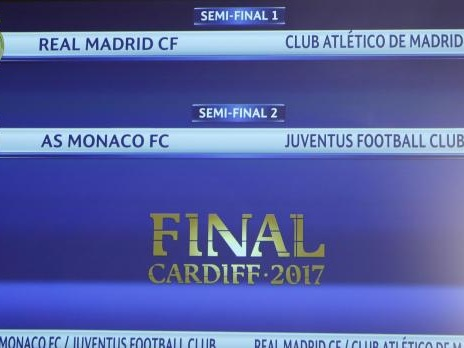Juventus to face Monaco in Champions League semi-finals