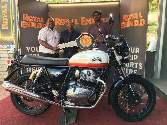 Royal Enfield 650 Twins Monthly Sales Crossed 2000 Mark In April