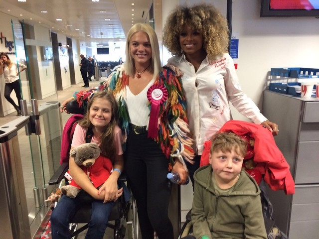 Child with congenital heart condition meets X-Factor stars