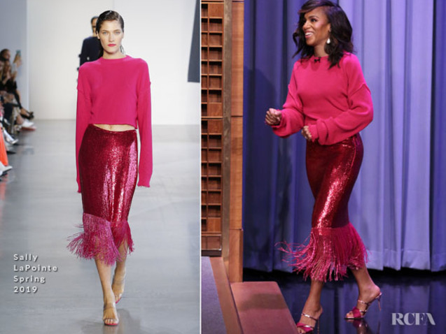 Kerry Washington In Sally LaPointe – The Tonight Show Starring Jimmy Fallon