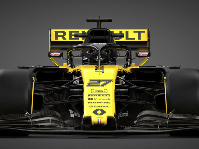 Renault R.S.19 F1 2019 car livery launch: video and pictures
