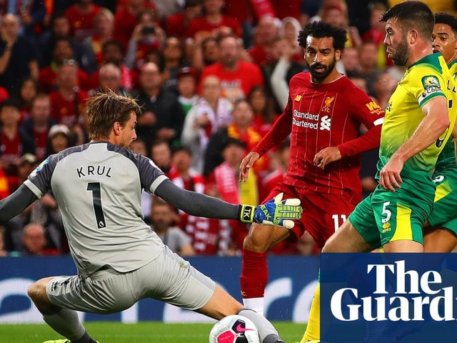 Liverpool brush aside Norwich to make an early statement of intent