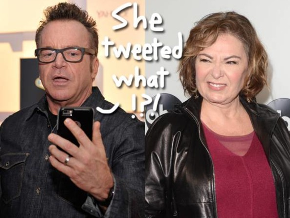 Roseanne & Tom Arnold Are Beefing AGAIN — This Time Over Donald Trump!