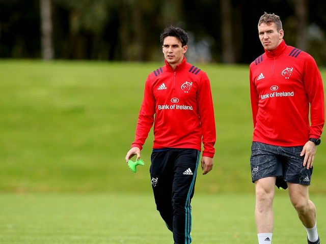 Munster's Chris Farrell to miss Castres trip - but Joey Carbery should be fit