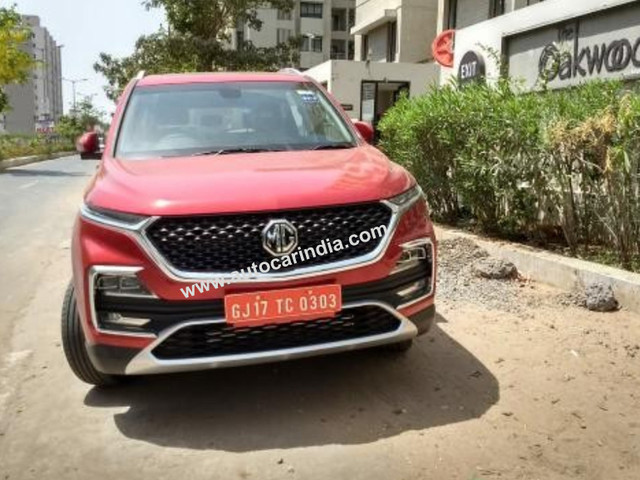 MG Hector bookings to commence in June 2019