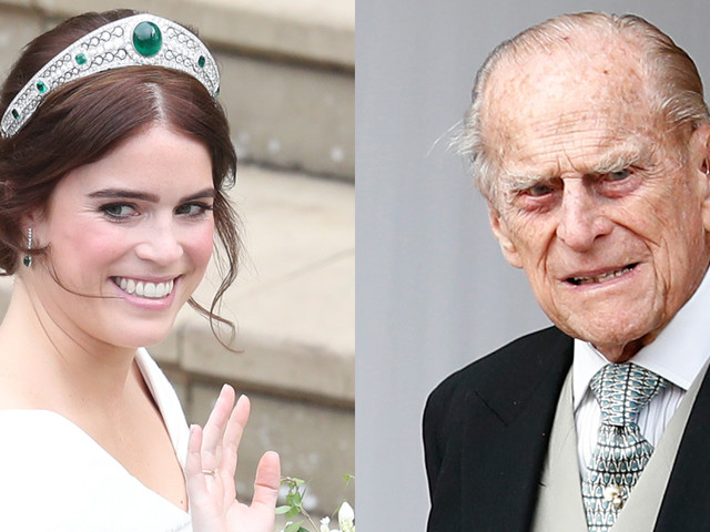 Princess Eugenie Reveals the Sentimental Wedding Gift Late Grandfather Prince Philip Gave Her