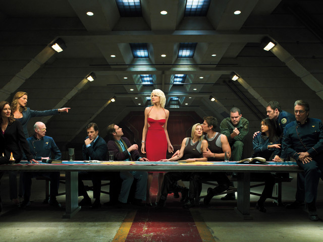 Apple picks up a new space drama from the creator of 'Battlestar Galactica'