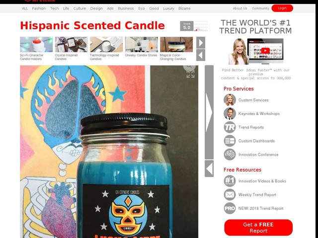 Hispanic Scented Candle - Oh Comadre's Vegan Candles Have Scents Inspired by Latino Culture (TrendHunter.com)