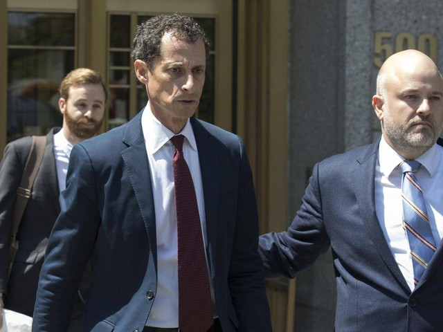Anthony Weiner to face sentencing Monday in sexting case